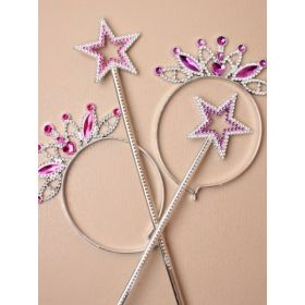 Star Princess Wand & Tiara Set