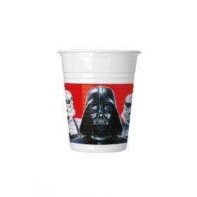 Star Wars Classic Cups 200ml, pk8
