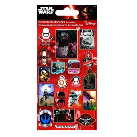 Star Wars Fun Foil Re-usable Sticker Sheet