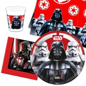 Star Wars Classic Party Tableware Pack for 8