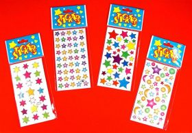 Star Laser Stickers