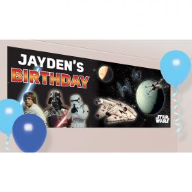 Star Wars Personalised Banners 1.2m x 45cm