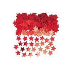 Stardust Red Confetti