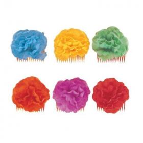 Hawaiian Floral Hair Comb