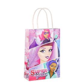 Super Girls Paper Party Bag