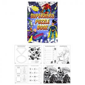 Superhero Fun Puzzle Book