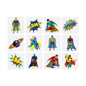 6 Superhero Tattoos