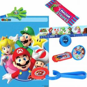 Super Mario Pre Filled Party Bags, One supplied