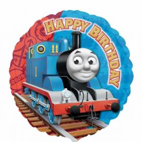 Thomas the Tank Engine Happy Birthday Foil Balloon