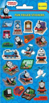 Thomas the Tank Engine and Friends Foil Sticker Strip (1 Strip)