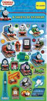 Thomas The Tank Engine Party Bag Stickers 6pk