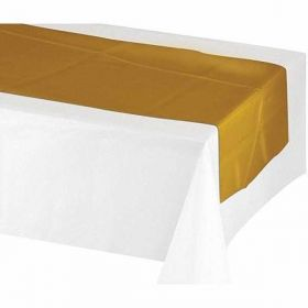 Metallic Gold Table Runner