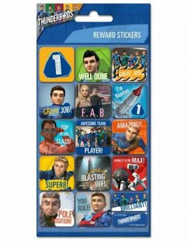 Thunderbirds Reward Stickers