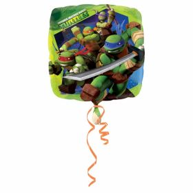 Teenage Mutant Ninja Turtles Square Foil Balloon 18''