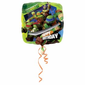 Teenage Mutant Ninja Turtles Happy Birthday Foil Balloon 18''