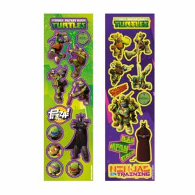 Teenage Mutant Ninja Turtles Sticker Strips, pk8