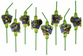 Teenage Mutant Ninja Turtles Drinking Straws