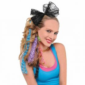 Totally 80's Hair Extensions - 5 different colours