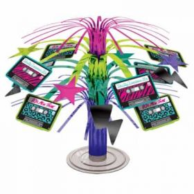 Totally 80's Mini Cascade Table Centrepiece
