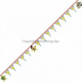 Toy Story Star Power Birthday Jointed Banner