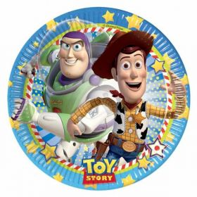 Toy Story Star Power Plates pk8 20cm