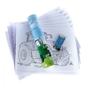Tractor Ted Colouring Sheets