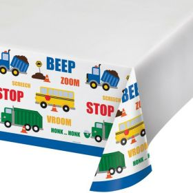 Traffic Jam Party Tablecover