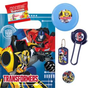 Filled Transformers Party Bags