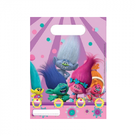 Trolls Party Bags, pk6