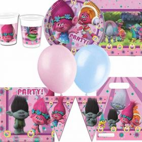 Trolls Ultimate Party Supplies Kit for 8