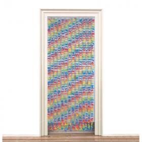 Luau Flower Door Curtain