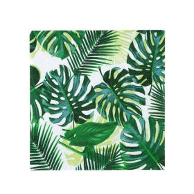 Tropical Fiesta Palm Leaf Cocktail Napkins, pk20