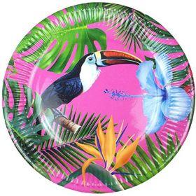Tropical Fiesta Plates