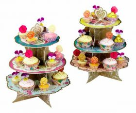 Truly Scrumptious 3 Tier Party Cake Stand