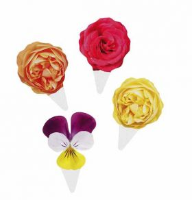 Truly Scrumptious Cake Toppers, pack of 40