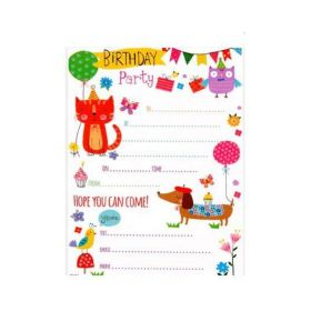 Cute Party Invitations pk20