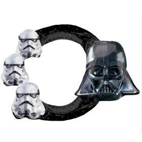 """Star Wars Inflatable Foil Selfie Frame 29"""""""