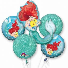 Ariel Dream Big Bouquet Foil Balloons
