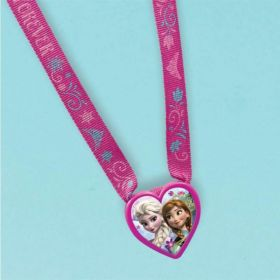 Disney Frozen Heart Charm Necklaces, pk12