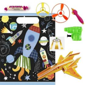 Space Themed Pre Filled Party Bags