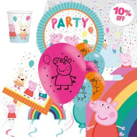 Peppa Pig Rainbow Ultimate Party Pack