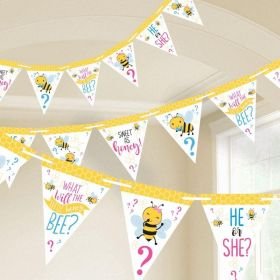What Will It Bee? Pennant Banner 4.57m