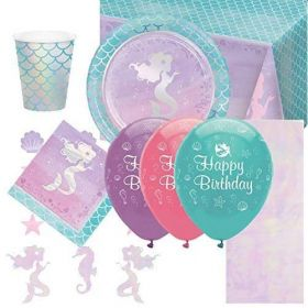 Mermaid Shine Ultimate Party Pack for 8
