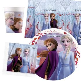 Disney Frozen 2 Party Tableware Pack for 8