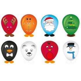 Christmas Balloon Head