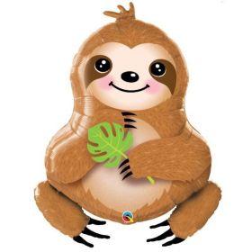 """Sloth SuperShape Foil Balloon 39"""""""