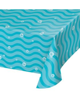 Sea Bubbles Party Tablecover 1.37m x 2.59m