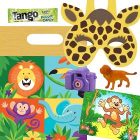 Filled Jungle Safari Party Bags