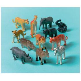 Jungle Animals Plastic Animals, pk8