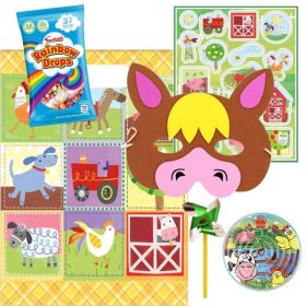 Farm Party Pre Filled Party Bags (no.1), One Supplied